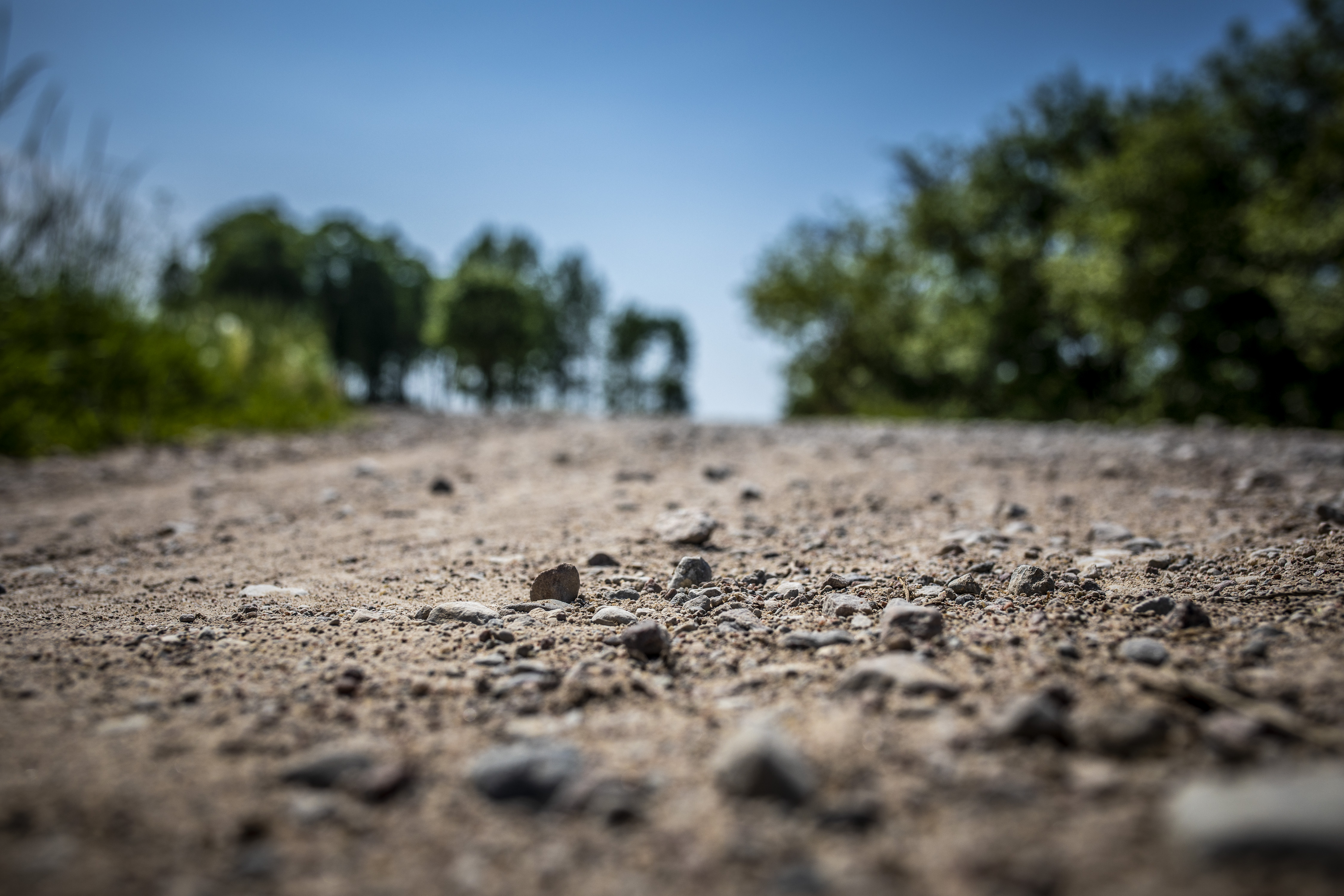 Illustration dirt road during the 2019 European Rally Championship ERC Liepaja rally,  from may 24 to 26, at Liepaja, Lettonie - Photo Gregory Lenormand / DPPI