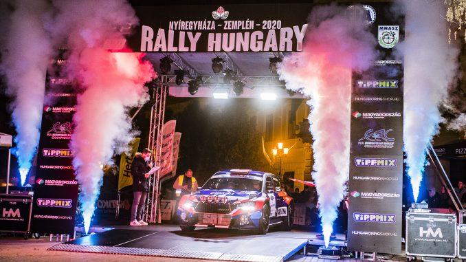 AUTO - ERC - RALLY HUNGARY 2020