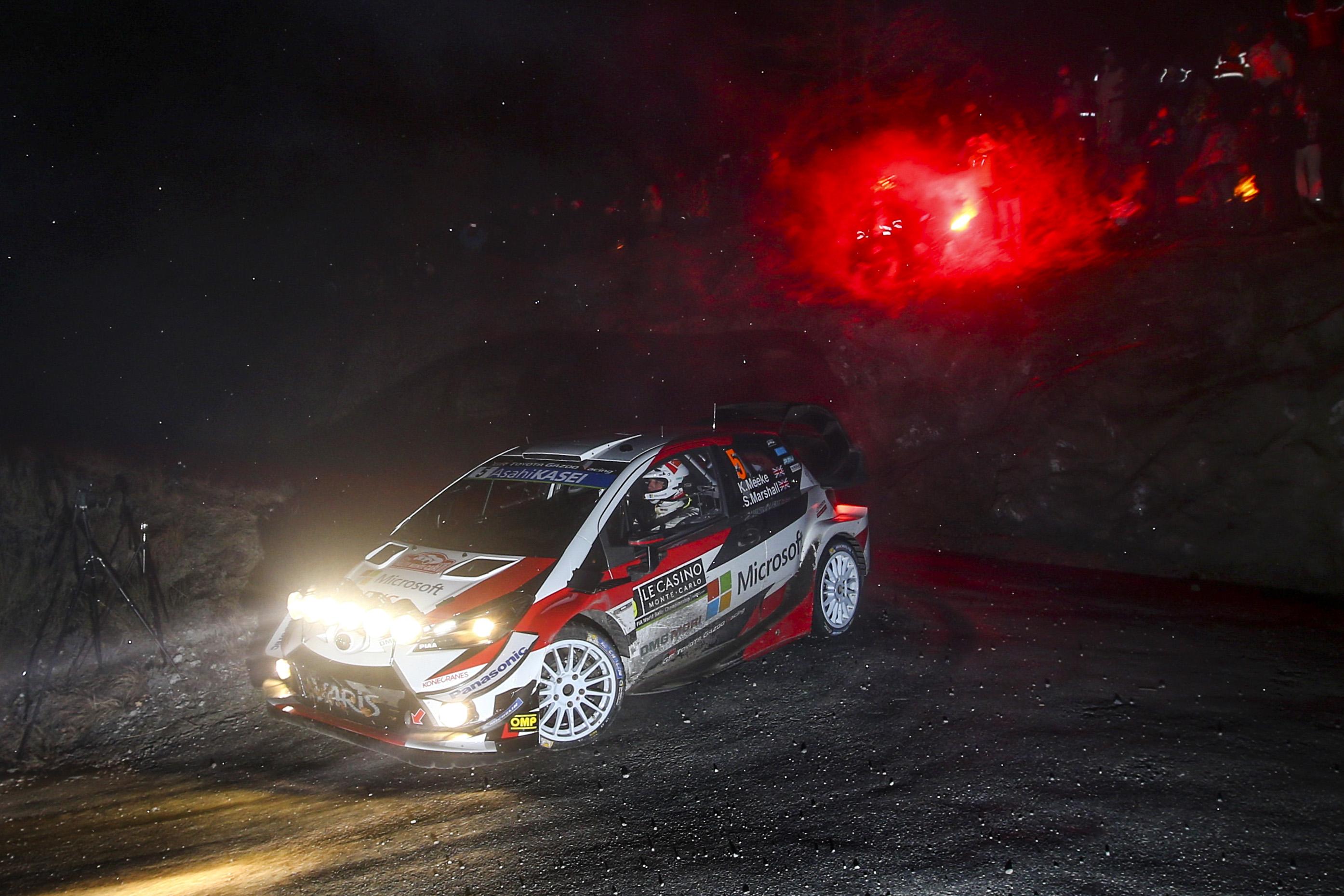 FIA World Rally Championship 2019 / Round 01 / Monte Carlo Rally / January 24-27, 2019 // Worldwide Copyright: Toyota Gazoo Racing WRC