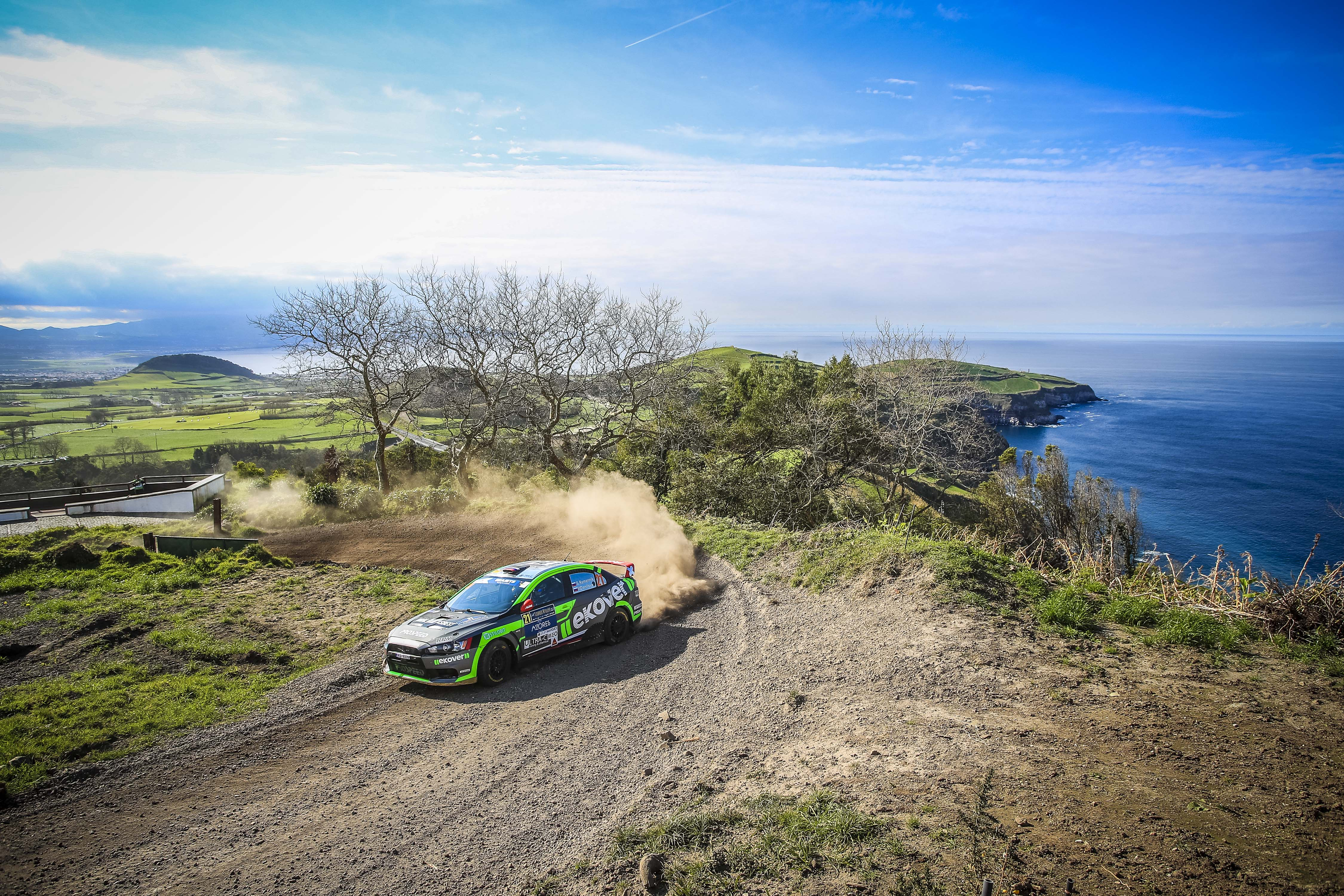 21 REMENNIK Sergey (rus), DANILOVA Marina (rus), Russian Performance during the 2019 European Rally Championship ERC Azores rally,  from March 21 to 23, at Ponta Delgada Portugal - Photo Gregory Lenormand / DPPI