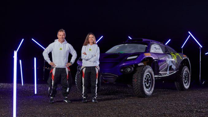 Sébastien Loeb and Cristina Gutiérrez_1