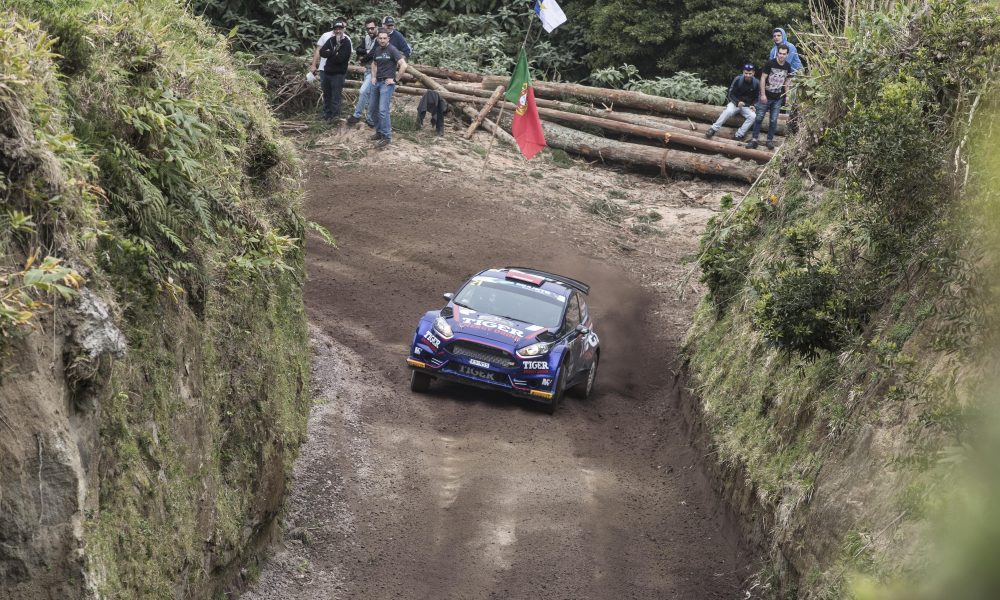 21 KASPERCZYK Tomasz (pol), SYTY Damian (pol), FORD FIESTA R5, action during the 2018 European Rally Championship ERC Azores rally,  from March 22 to 24, at Ponta Delgada Portugal - Photo Gregory Lenormand / DPPI